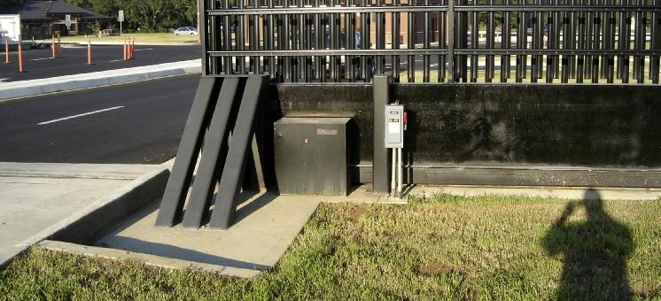 Slide Crash Gate
