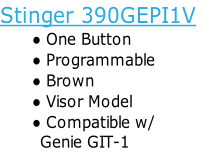 Stinger 390GEPI1V