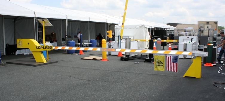 Barrier Crash Gate