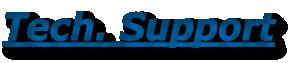 Tech. Support